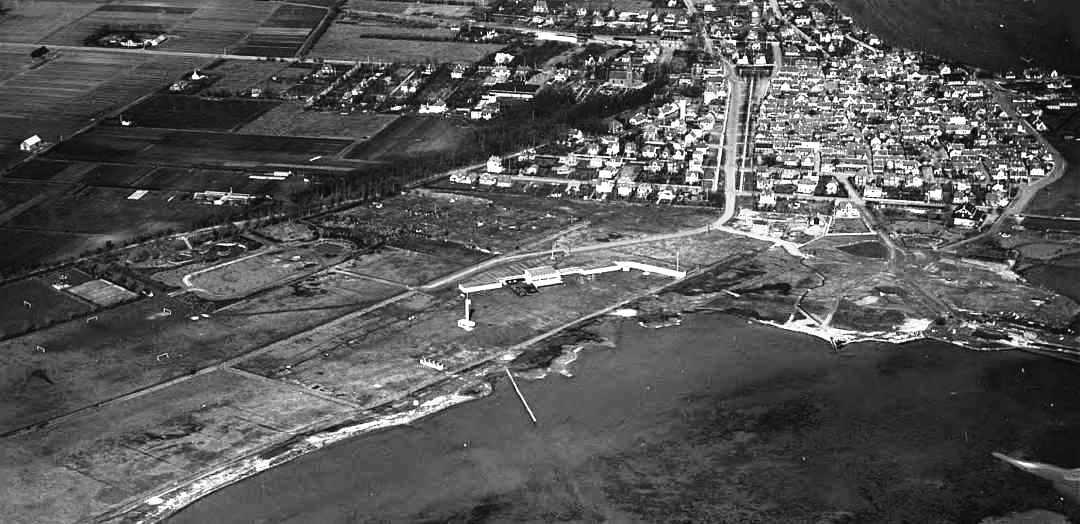 Arne Jacobsens Badeetablissement, Sylten, Campingpladsen