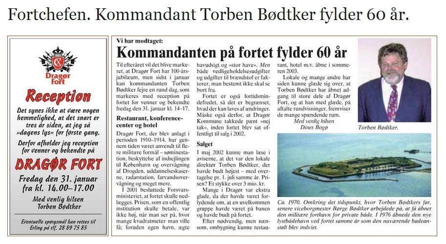 Dragør Fort - Torben Bødtker